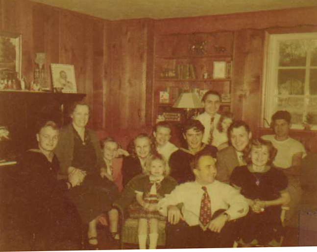 Scherff family and friends ca. 1938 Germany