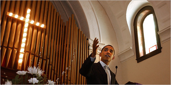 Philosophy blog: barack obama ap religious assurances