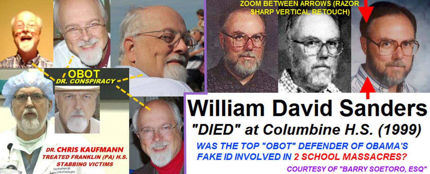 Photos of Dr. Conspiracy, Chris Kaufmann, and William Sanders