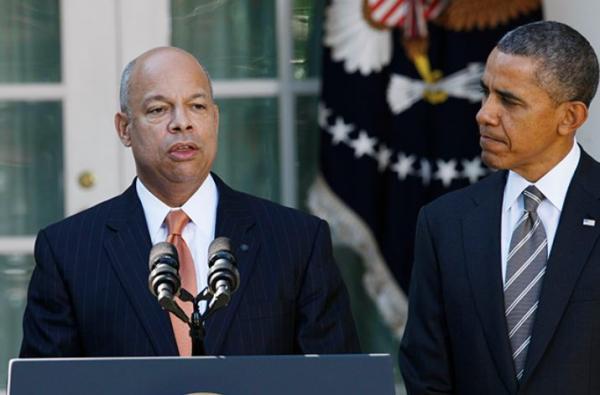 Jeh Johnson and Obama Jna 5 2017