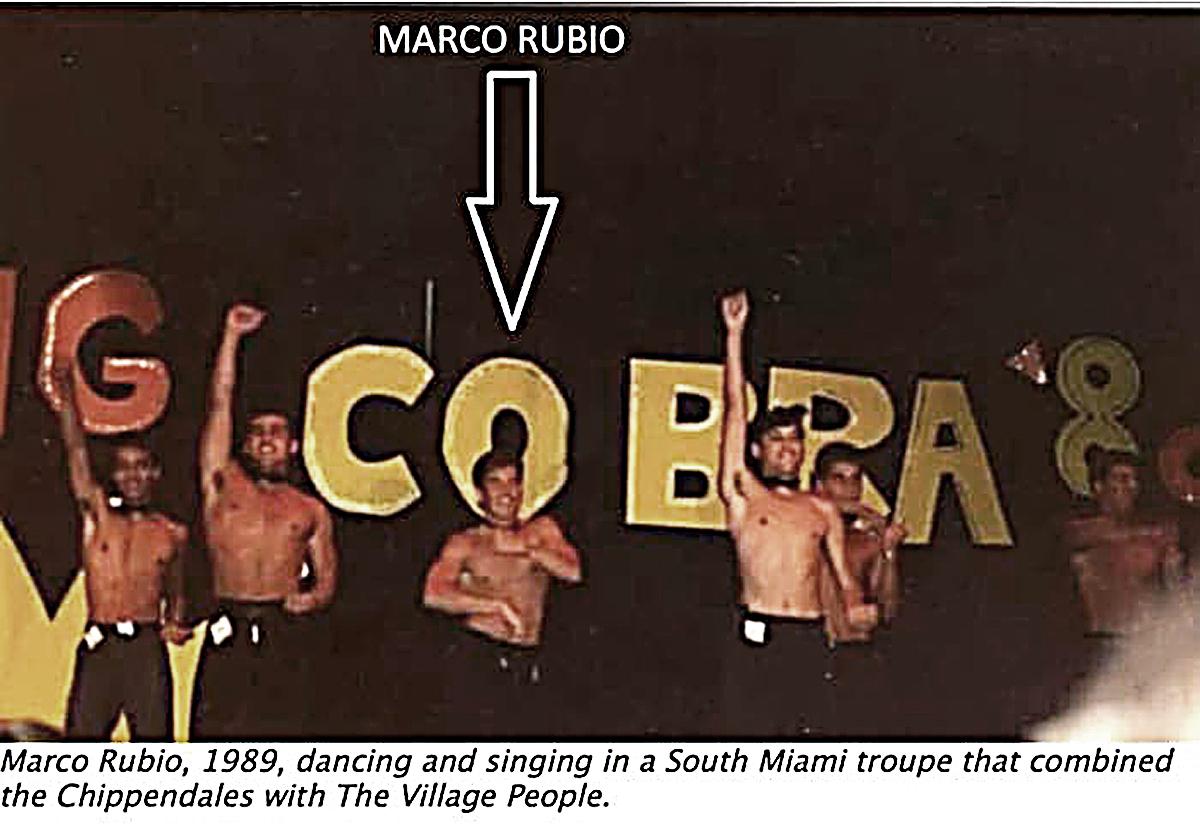 Marco rubio foam party