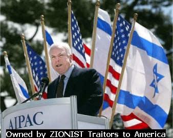 John McCain Israel -owned