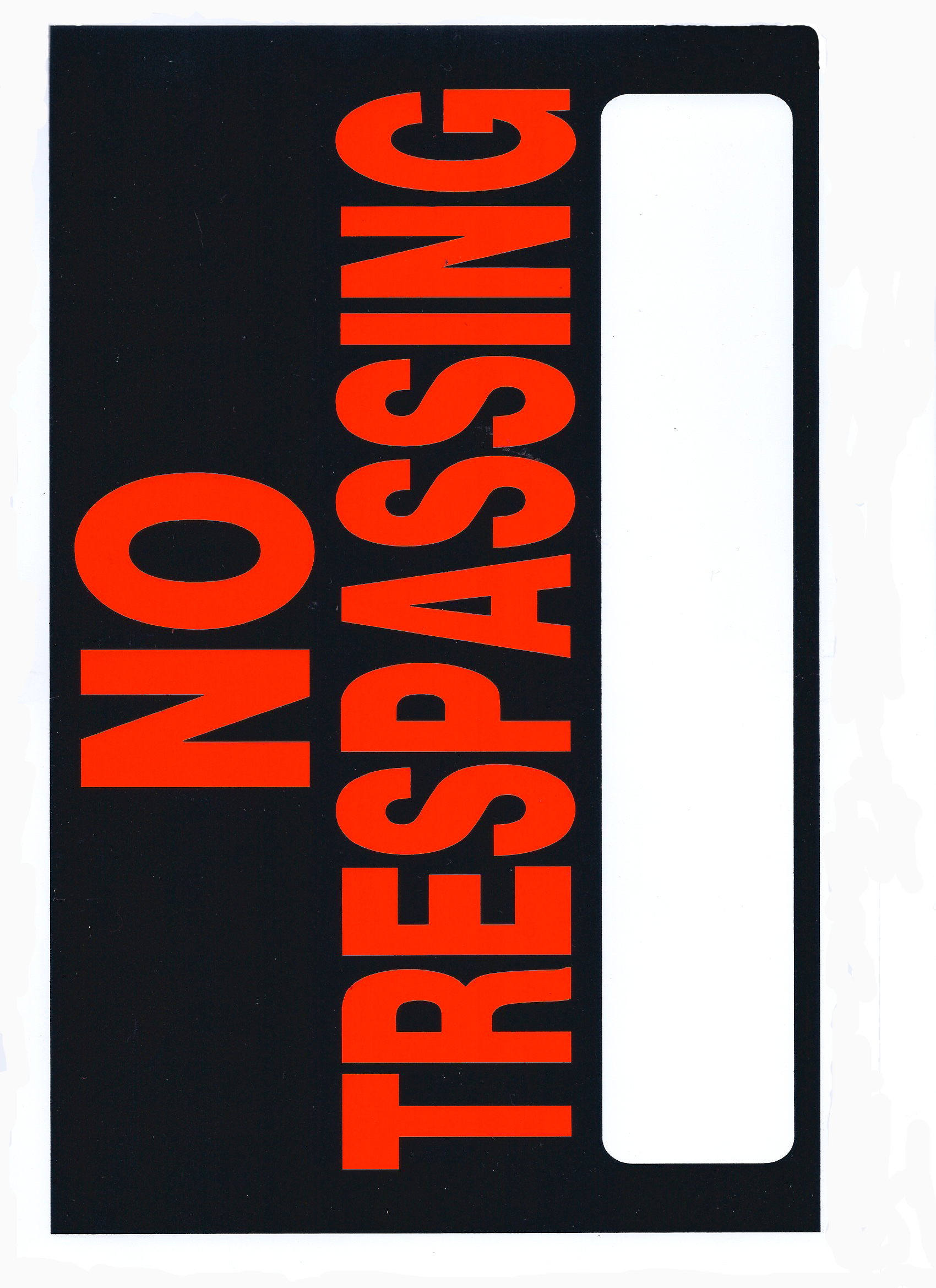 graphic about Printable No Trespassing Sign known as Print Your Private No Tresping Indicator