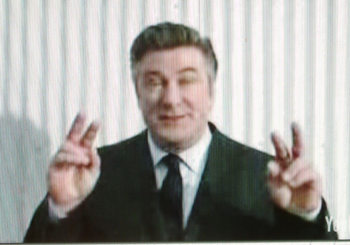 Alec Baldwin in HuLu commercial