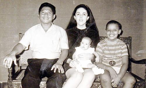 Lolo Sotoro, Stanley And, and Barack Soetoro ca 1967