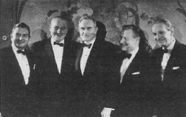 Rockefeller Brothers in formal attire