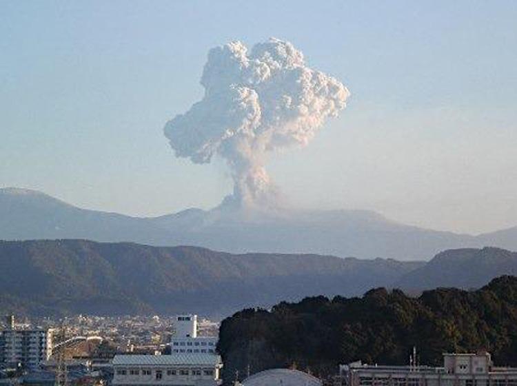 Japão Vulcão