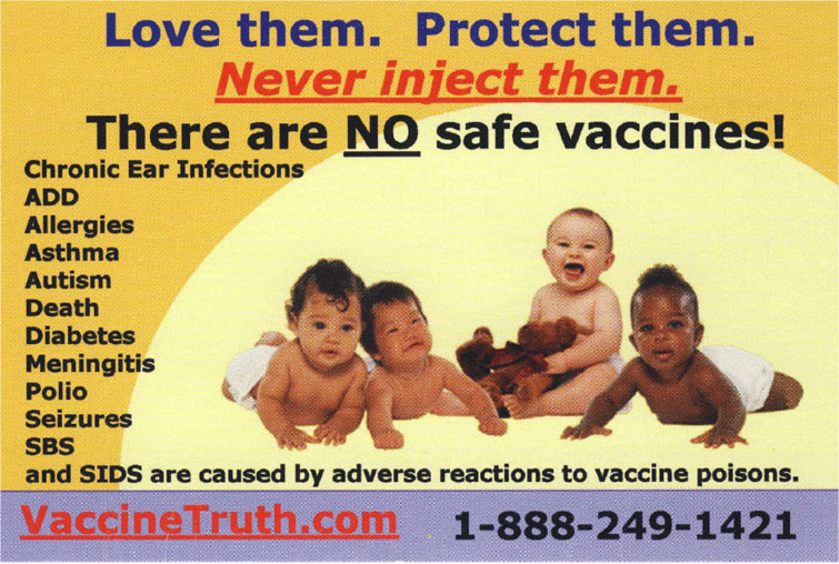 Image result for vaccine dangers